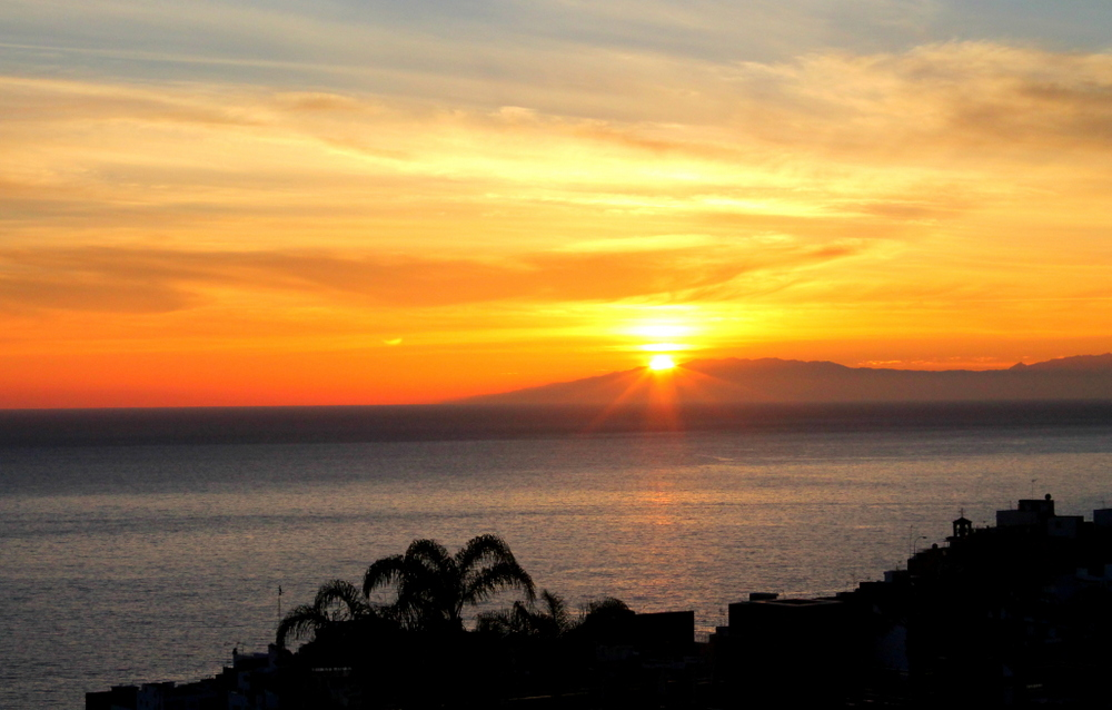 Sunset in Tenerife