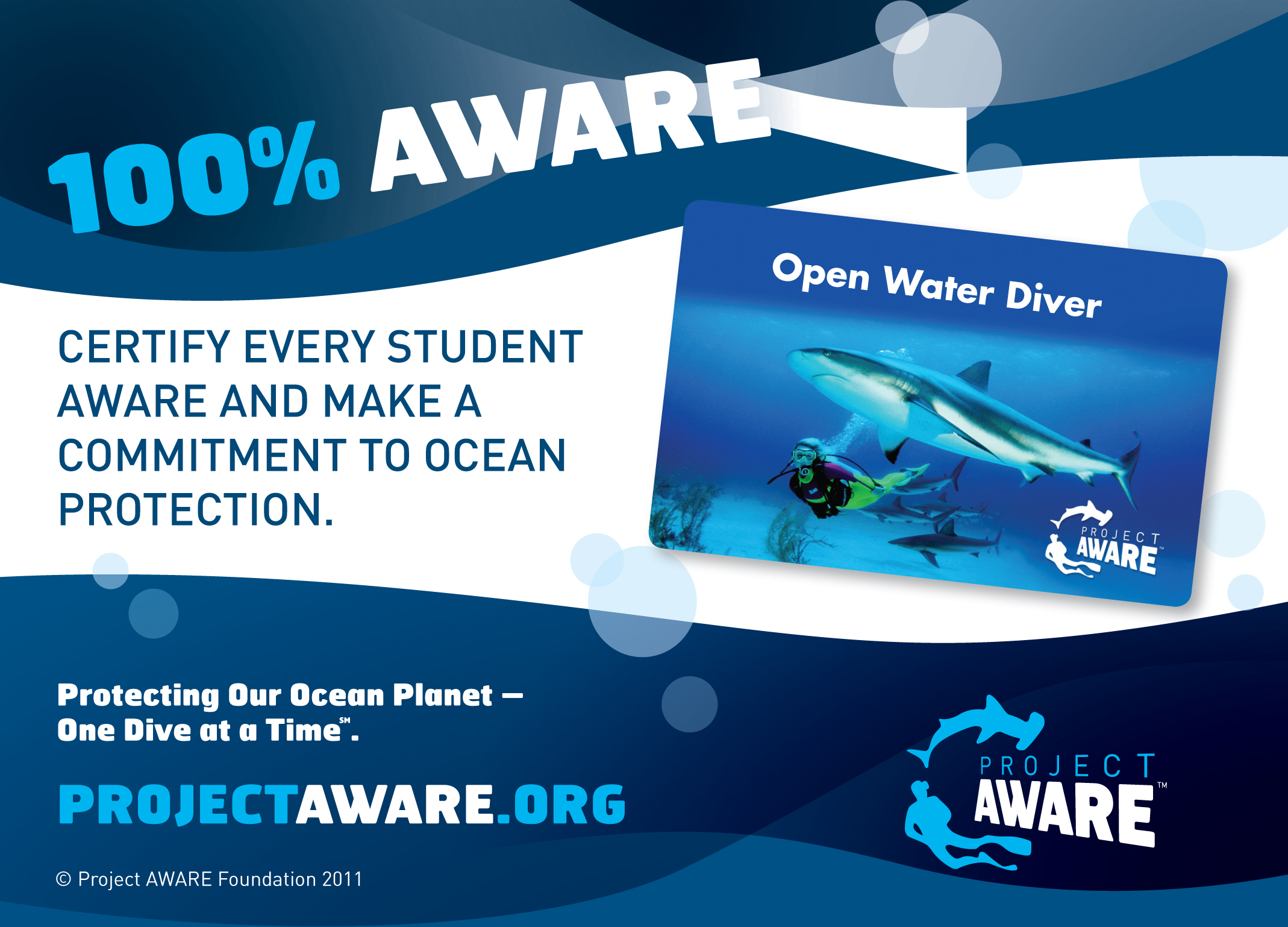 diving tenerife Project AWARE Tenerife
