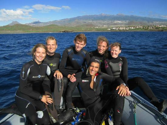 dive-and-sea-tenerife boat diving